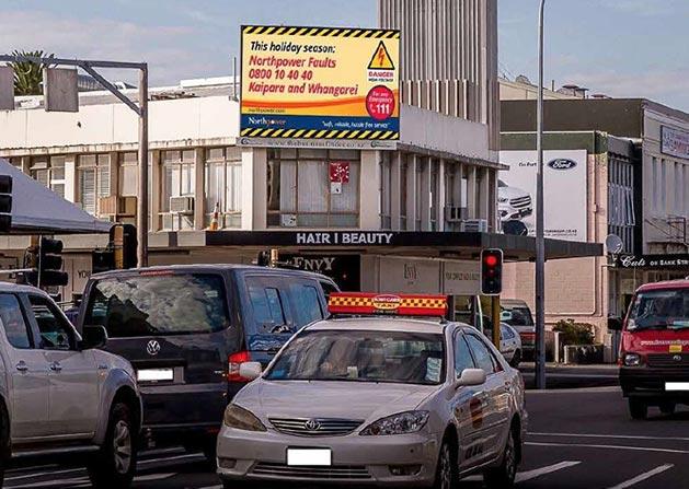 Outdoor Digital Billboard - The Business Finder